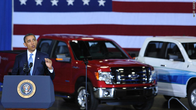 Obama to tout next-generation autos Thursday
