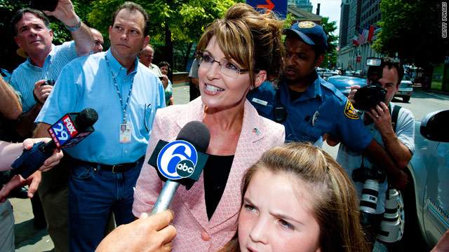 Palin bus tour to roll into Iowa