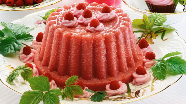 Breakfast buffet: National raspberry bombe day