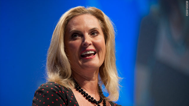 Ann Romney missed hecklers, fried butter