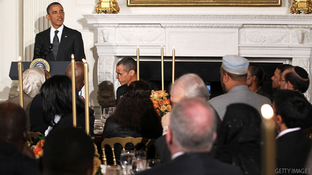 Obama praises American Muslims for contributions since 9/11 attacks