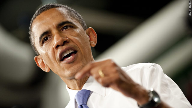 Obama blames political impasse for continuing economic woes