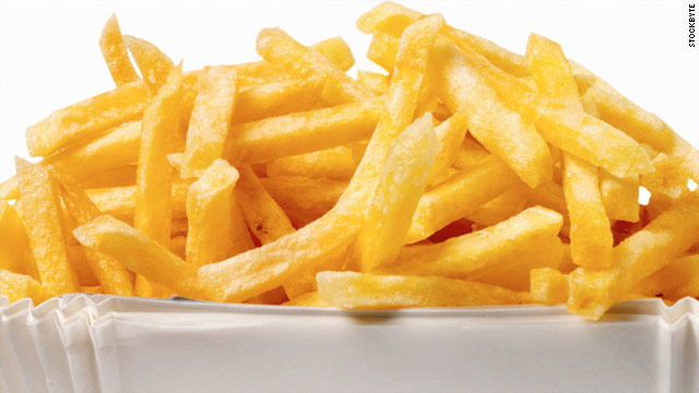 Breakfast buffet: National shoestring fries day