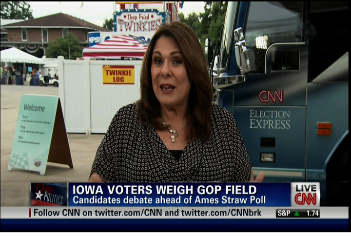 CNN weekend programming originates from Iowa