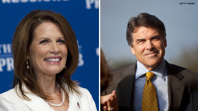 Bachmann camp to Perry: Why the no-show at GOP debate?