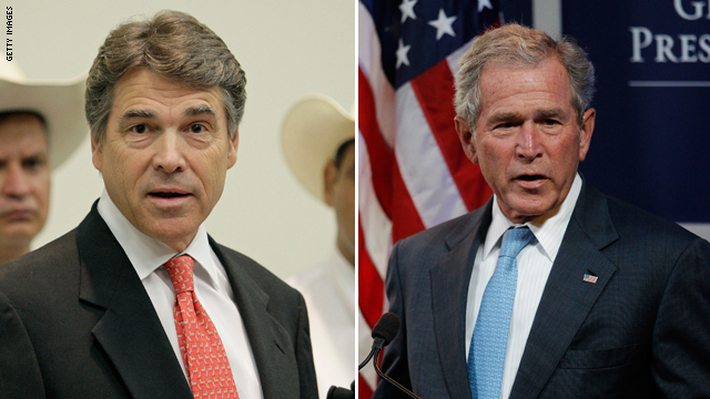 Perry on his predecessor:  &#039;I love George Bush&#039;