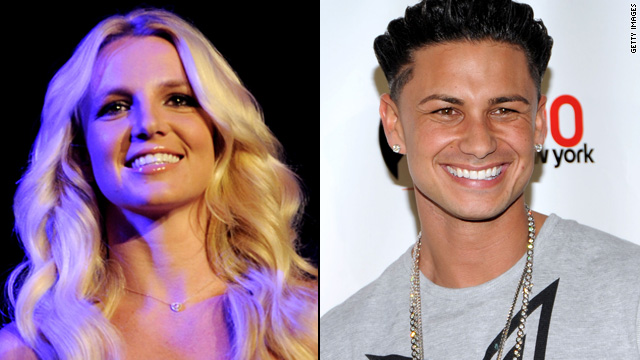 Britney Spears gives Pauly D a lap dance
