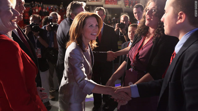 Belief Blog: Bachmann faces theological question about submissive wives at debate