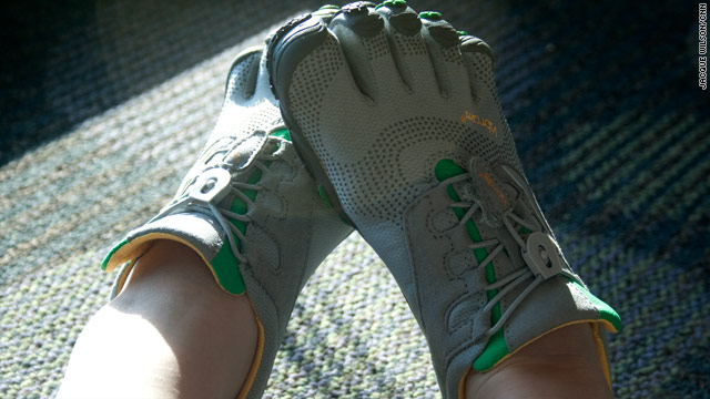 Five tips for breaking in your FiveFinger shoes