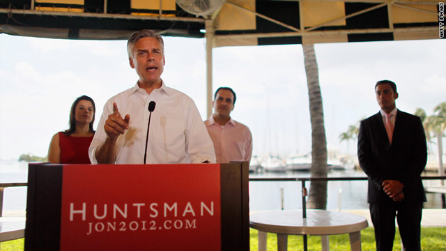 Huntsman drills down on New Hampshire