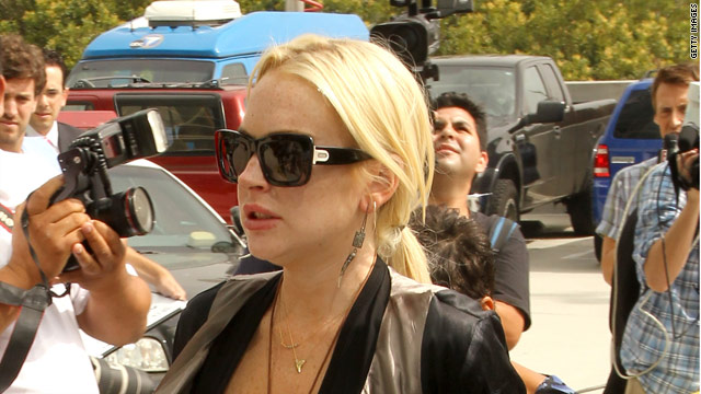Lohan's rep: Those were crystals, not drugs