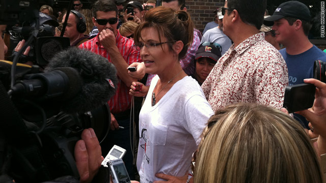 PHOTO: Palin at Iowa State Fair