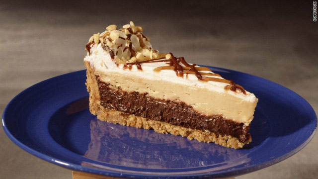 A peanut butter pie in memory of Mikey