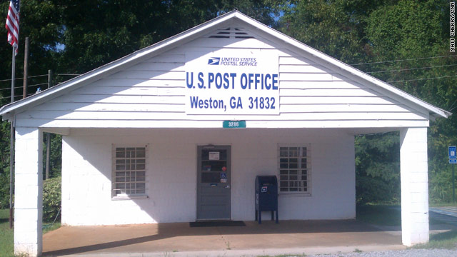 Saving the small town post office