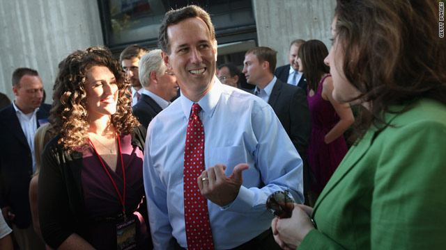Santorum: Poor results Saturday could doom prez bid