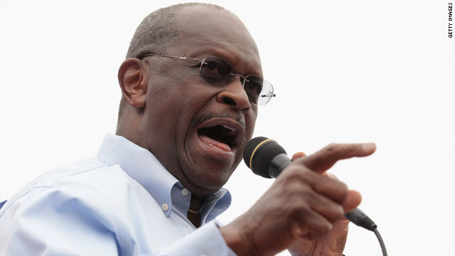 Cain swats back notions of a Bachmann-Cain &#039;dream team&#039;