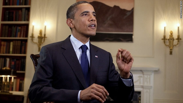 President Obama blasts partisanship in weekly address