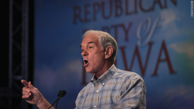 Ron Paul only grown-up running for president in GOP?