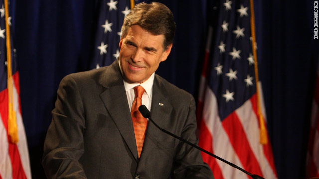 Perry announces presidential bid
