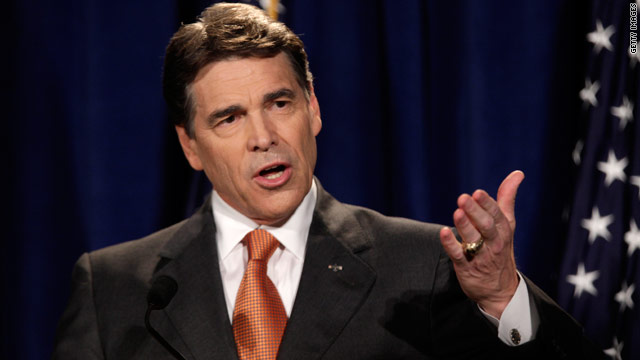 Perry lays groundwork for South Carolina campaign