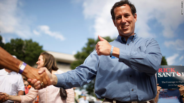 Santorum: 'This is the little-engine-that-could campaign'