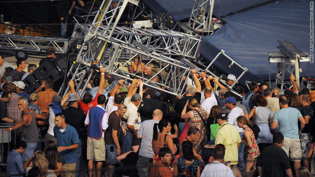 Probe underway into Indiana State Fair stage collapse that killed 5