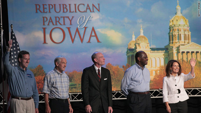 Minnesota Rep. Michele Bachmann wins Iowa straw poll