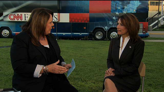 Bachmann: I don't compromise my principles