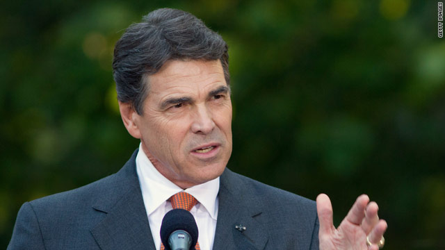 Daggummit: Perry&#039;s Texas twang on the trail