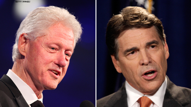 Bill Clinton on Perry: He's a 'good-looking rascal'