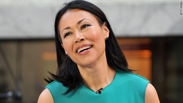 Report: Homeless man living in Ann Curry's home