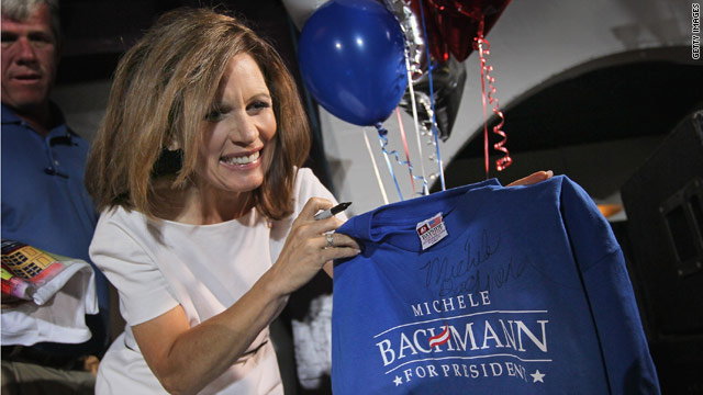 Bachmann to raise money in North Carolina