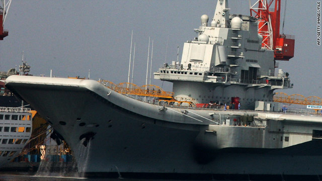 China's aircraft carrier ends sea trials