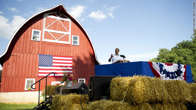 Obama's Bus Tour Stop #4: Decorah, IA