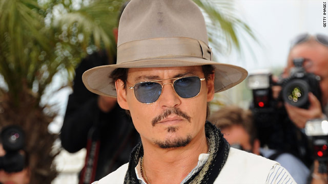 Disney halts production on Depp's 'Lone Ranger'