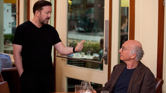 Ricky Gervais vs. Larry David on 'Curb'