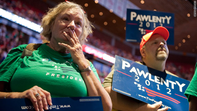 Former Pawlenty supporters pursued by other campaigns