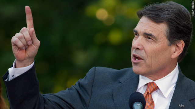 Are you buying what Texas Governor Rick Perry is selling?