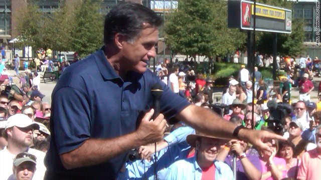 Romney touts business experience; says most of his rivals don't have it