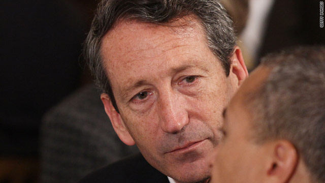 Sanford accused of trespassing on ex-wife's property