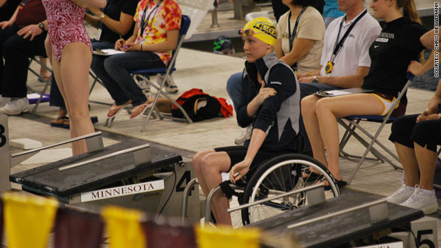 U.S. para-swimmer breaks another world record
