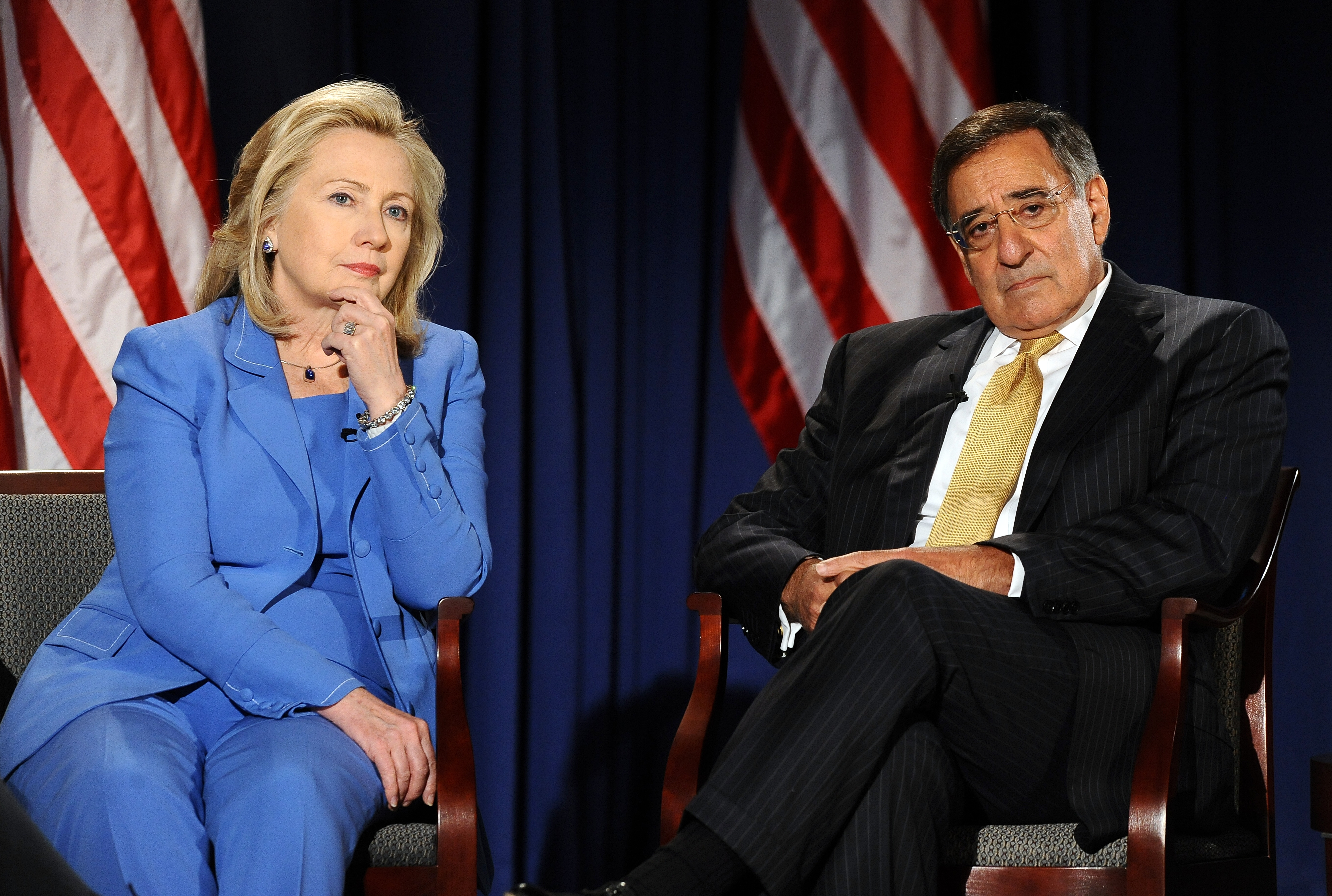 A conversation with Clinton and Panetta