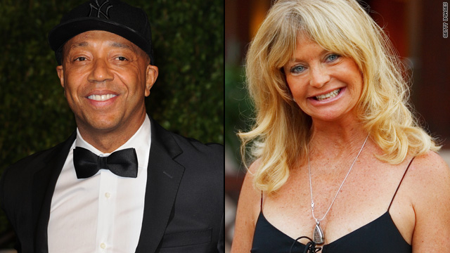 Russell Simmons and Goldie Hawn talk education