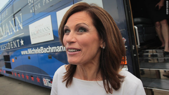 All shook up: Bachmann flubs Elvis birthday
