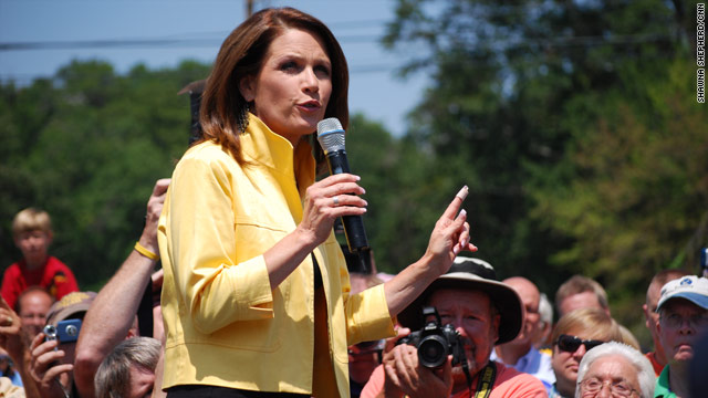 Bachmann's return to South Carolina