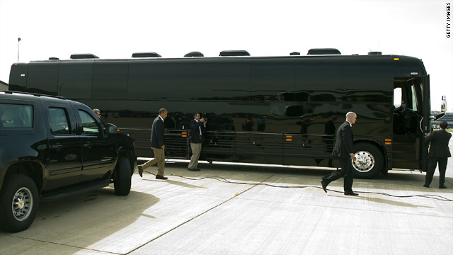 The president's beastly bus