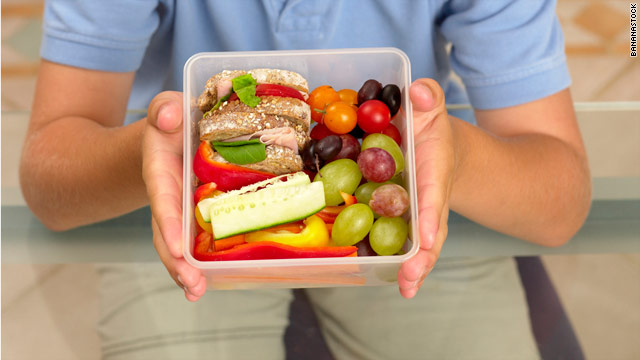 Box lunch: A chef&#039;s lunchbox and meat gardens