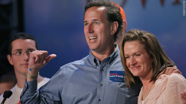 Santorum on Perry: 'We're not in Texas, anymore'