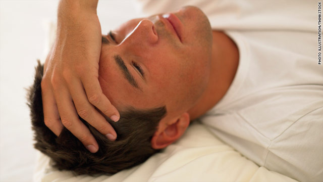 Get Some Sleep: Bang in your head waking you? It has a name