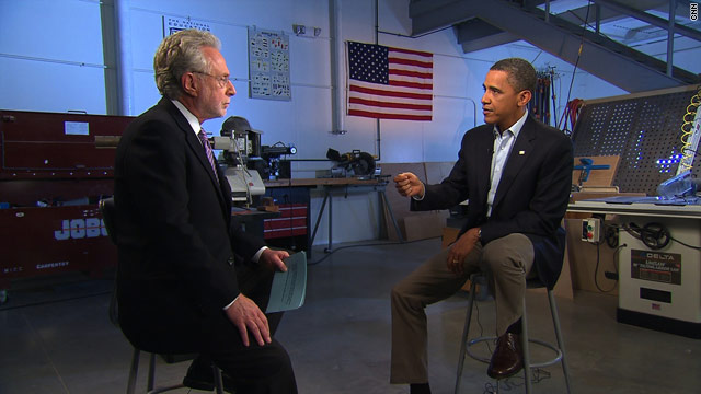 Obama blasts GOP 'rigidity' in CNN interview